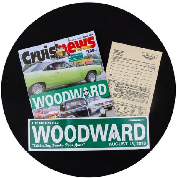 2018 Woodward Dream Cruise Souvenir Pack