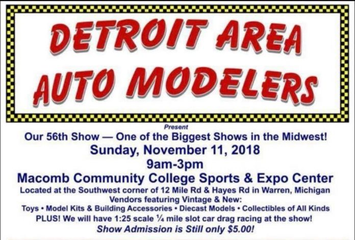 Detroit Area Auto Modelers 56th Show