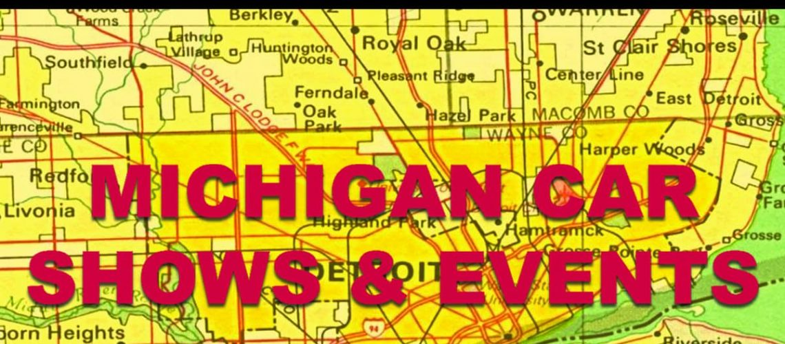 Michigan Show & Events for Cruisn website